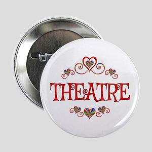 """Theatre Hearts 2.25"""" Button"""
