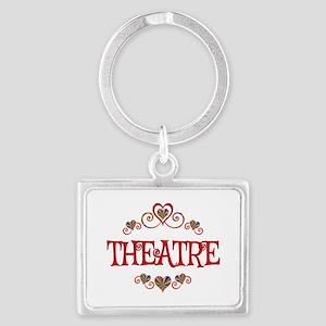 Theatre Hearts Landscape Keychain