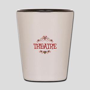 Theatre Hearts Shot Glass