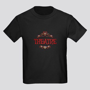 Theatre Hearts Kids Dark T-Shirt