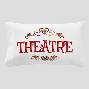 Theatre Hearts Pillow Case