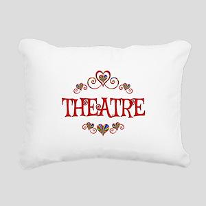 Theatre Hearts Rectangular Canvas Pillow