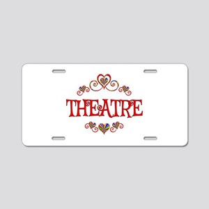 Theatre Hearts Aluminum License Plate