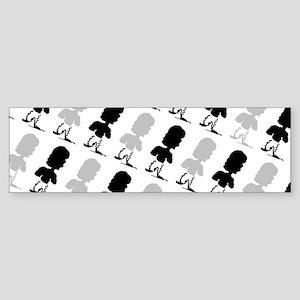 Doodle Man Enrique's Fave Bumper Sticker