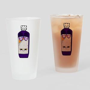 Codeine Crazy Cartoon Drinking Glass