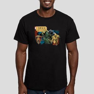 GOTG Drax Rage Men's Fitted T-Shirt (dark)