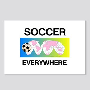 Soccer Everywhere Postcards (Package of 8)