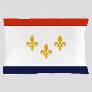 New Orleans Flag Pillow Case