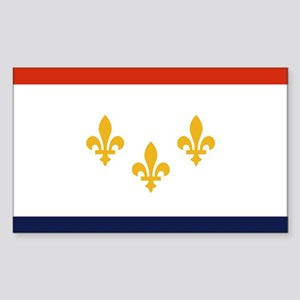 New Orleans Flag Sticker