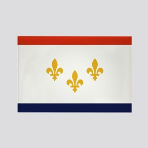 New Orleans Flag Magnets