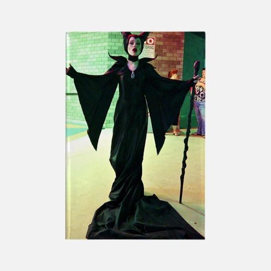 Maleficent Cosplay Rectangle Magnet