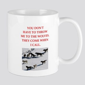 thrpwn to the wolves Mugs