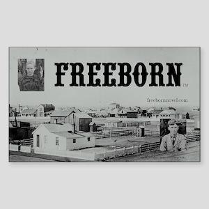 Freeborn Sticker (Rectangle)