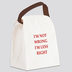 arrogant Canvas Lunch Bag