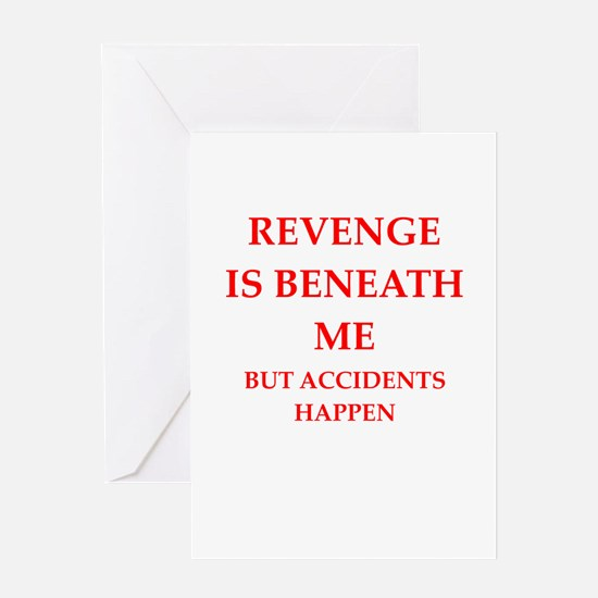 revenge Greeting Cards