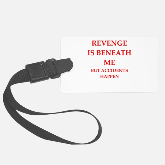 revenge Luggage Tag