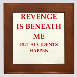 revenge Framed Tile