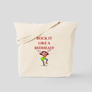 redhead Tote Bag