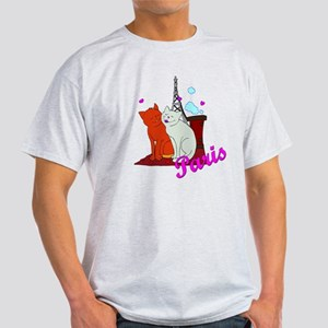 Paris Kitties Light T-Shirt
