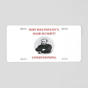 pavlov Aluminum License Plate