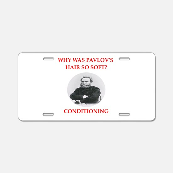 pavlov Aluminum License Plate