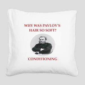 pavlov Square Canvas Pillow