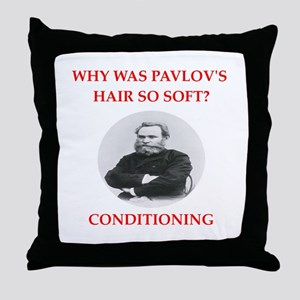 pavlov Throw Pillow