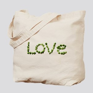 Love In Brussel Sprout Alphabet Tote Bag