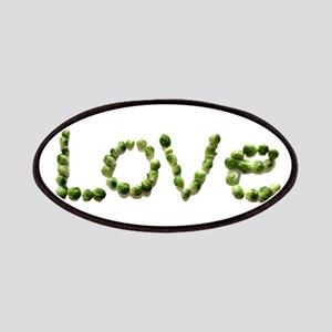 Love In Brussel Sprout Alphabet Patch