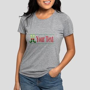 Personalizable Elf Feet T-Shirt