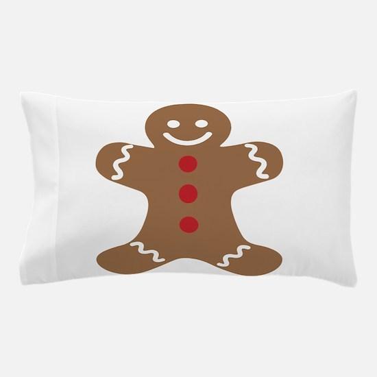 Gingerbread Man Pillow Case