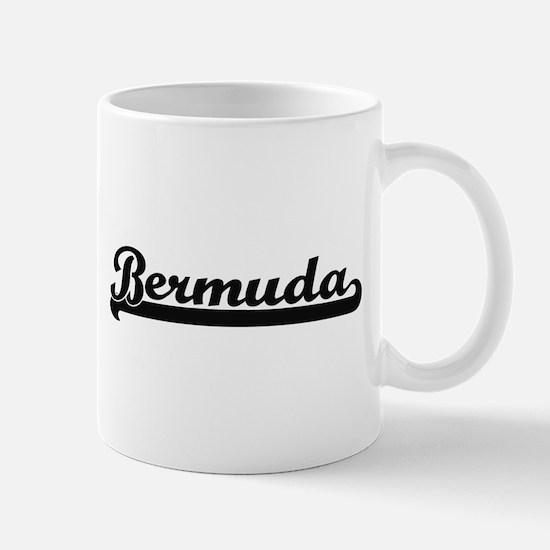 Bermuda Classic Retro Design Mugs