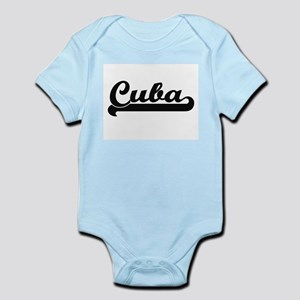 Cuba Classic Retro Design Body Suit