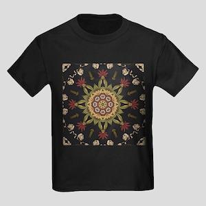 hipster vintage floral mandala T-Shirt