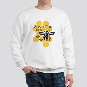 Honeycomb Save The Bees Sweatshirt