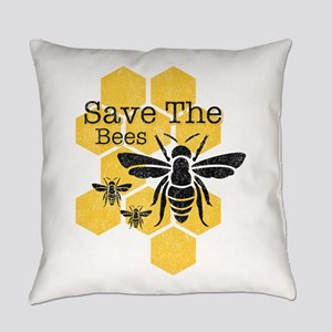 Honeycomb Save The Bees Everyday Pillow