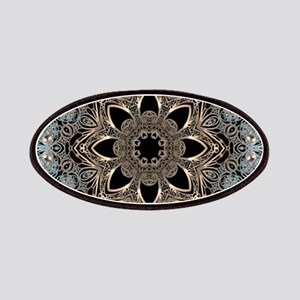 floral mandala hipster bohemian Patch