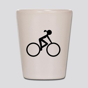 Cycle Chic Shot Glass