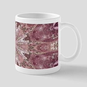 girly pink lace mandala floral Mugs