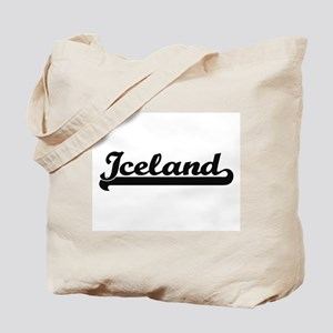 Iceland Classic Retro Design Tote Bag