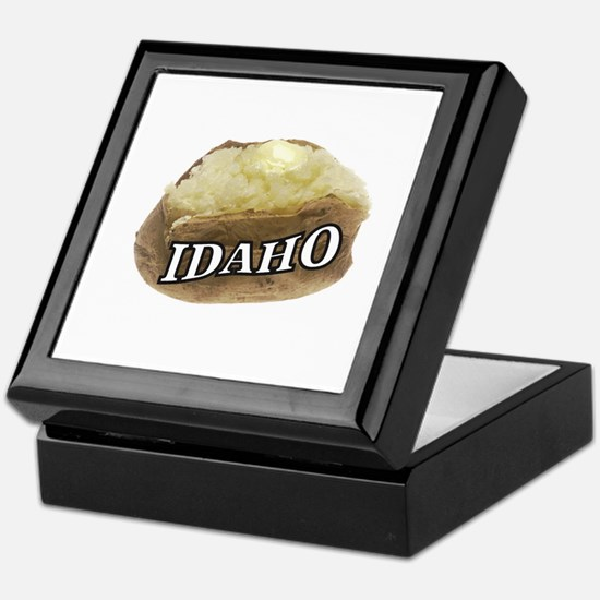 baked potato Idaho Keepsake Box