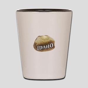 baked potato Idaho Shot Glass