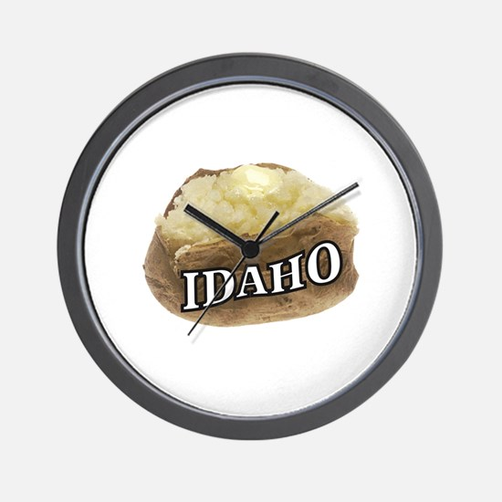 baked potato Idaho Wall Clock