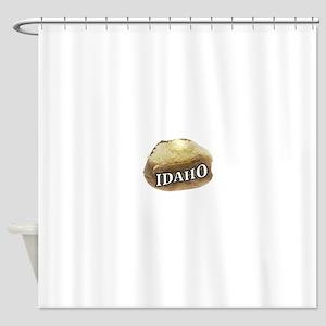 baked potato Idaho Shower Curtain