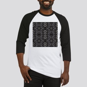 abstract pattern grunge industrial Baseball Jersey