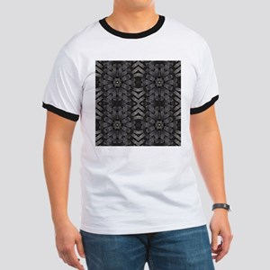 abstract pattern grunge industrial T-Shirt