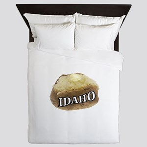 baked potato Idaho Queen Duvet