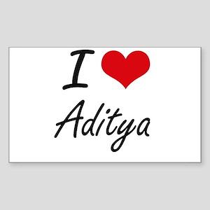 I Love Aditya Sticker