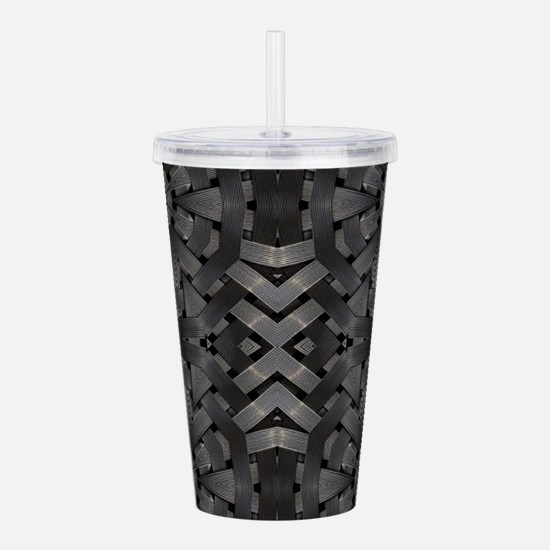 abstract pattern grung Acrylic Double-wall Tumbler