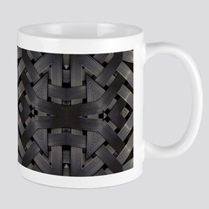 abstract pattern grunge industrial Mugs